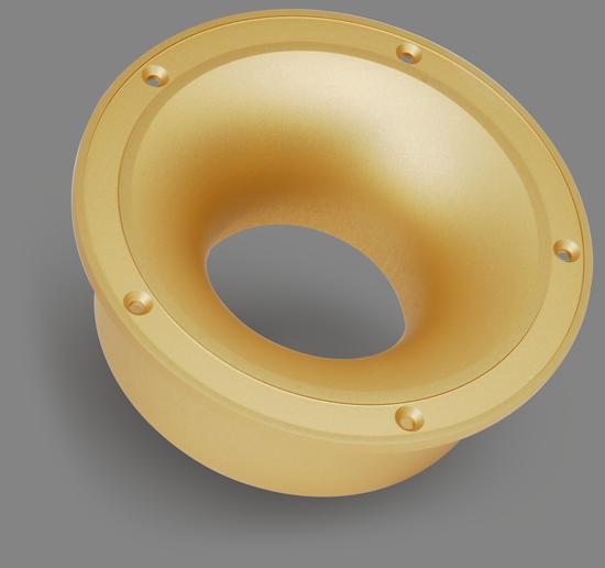 CNC Turned Gold