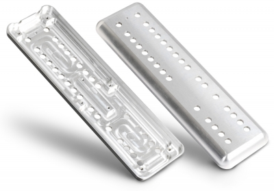 Milled components front and back